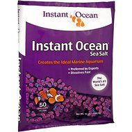 Instant Ocean Sea Salt for Aquariums, 50-gal