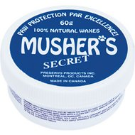 Musher's Secret Paw Protection Natural Dog Wax, 60-gram jar