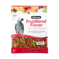 ZuPreem FruitBlend with Natural Fruit Flavors Parrot & Conure Bird Food, 3.5-lb bag