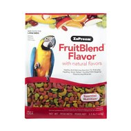 ZuPreem FruitBlend with Natural Fruit Flavors Large Bird Food, 3.5-lb bag