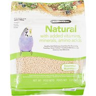 ZuPreem Natural with Vitamins, Minerals & Amino Acids Small Bird Food, 2.25-lb bag
