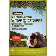 ZuPreem Nature's Promise Timothy Naturals Guinea Pig Food, 5-lb bag