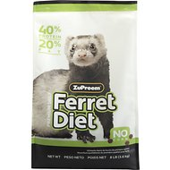 ZuPreem Premium Diet Ferret Food, 8-lb bag