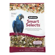 ZuPreem Smart Selects Macaw Bird Food, 4-lb bag