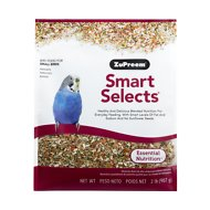 ZuPreem Smart Selects Parakeet Bird Food, 2-lb bag