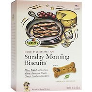 Variety Pet Foods Sunday Morning Biscuits Dog Treats, 18-oz box