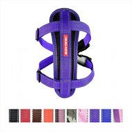 EzyDog Chest Plate Dog Harness, Purple, Large
