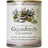 Variety Pet Foods Grandma's Casserole Canned Dog Food, 12.75-oz, case of 12