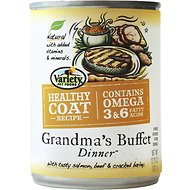 Variety Pet Foods Healthy Coat Grandma's Buffet Dinner Canned Dog Food, 12.75-oz, case of 12