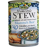 Variety Pet Foods Homestyle Stew Momma's Best Canned Dog Food, 13.2-oz, case of 12