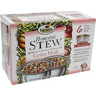 Variety Pet Foods Homestyle Stew Meat Lovers Variety Pack Canned Dog Food, 13.2-oz, case of 6