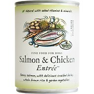 Variety Pet Foods Salmon & Chicken Entree Canned Dog Food, 12.75-oz, case of 12