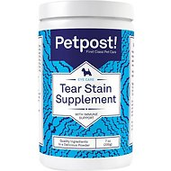 Petpost Tear Stain Supplement with Immune Support for Dogs, 7-oz bottle