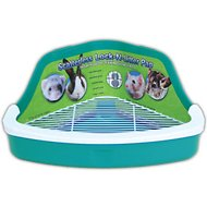 Ware Scatterless Lock-N-Litter Small Animal Litter Pan