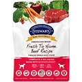 Stewart Raw Naturals Beef Recipe Grain-Free Freeze-Dried Dog Food