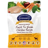 Stewart Raw Naturals Chicken Recipe Grain-Free Freeze-Dried Dog Food, 24-oz bag