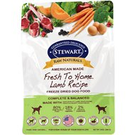 Stewart Raw Naturals Lamb Recipe Grain-Free Freeze-Dried Dog Food, 24-oz bag