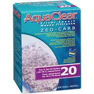AquaClear Mini Zeo-Carb Filter Insert, Size 20