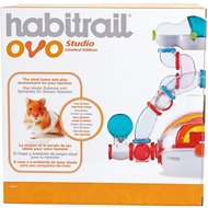 Habitrail OVO Studio Hamster Habitat, Multi-colored