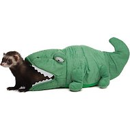 Marshall Hide-N-Sleep Alligator Ferret Hideaway, 9.5-in