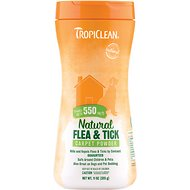 TropiClean Natural Flea & Tick Carpet & Pet Powder, 11-oz bottle