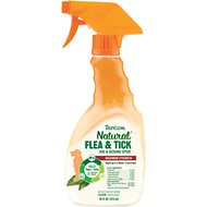 TropiClean Natural Flea & Tick Spray for Dogs & Bedding, 16-oz bottle