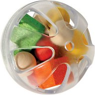 Caitec Paradise Fillable Ball Bird Toy, 3-inch