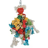 Caitec Paradise Cotton Preening Doll Bird Toy, 12-inch