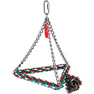 Caitec Paradise Cotton Triangle Bird Swing, Medium