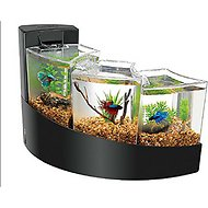 Aqueon Betta Falls Aquarium Kit, Black