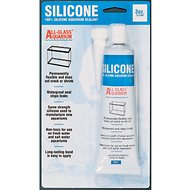 Aqueon Silicone 3-oz Aquarium Sealant, Clear