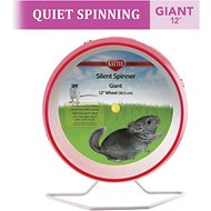 Kaytee Silent Spinner Small Animal Exercise Wheel, Giant