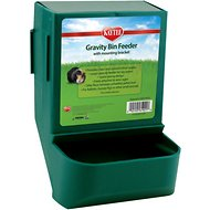 Kaytee Gravity Bin with Mounting Bracket Small Animal Feeder, 8.25-inch