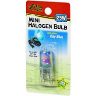 Zilla Mini Day Blue Halogen Bulb for Reptile Terrariums, 25-watt