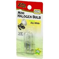 Zilla Mini Day White Halogen Bulb for Reptile Terrariums, 50-watt