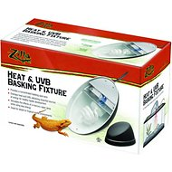 Zilla Mini Halogen & UVB Combo Fixture for Reptile Terrariums, 9.6-in