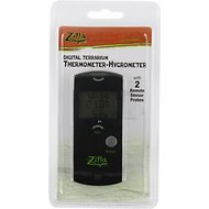 Zilla Thermometer-Hygrometer for Reptile Terrariums, Digital