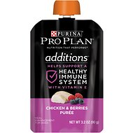 Purina Pro Plan Additions Chicken & Berries Puree Dog Food Topper, 3.2-oz, case of 14