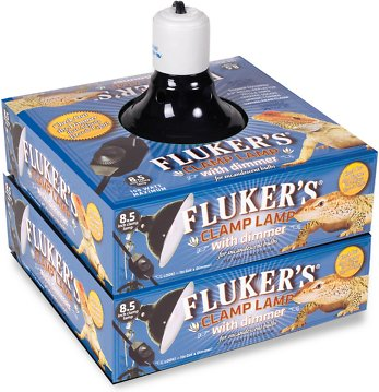 Fluker S Clamp Lamp With Dimmer 8 5 In Chewy Com