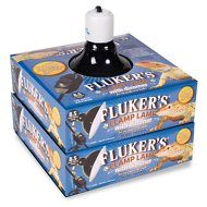 Fluker's Clamp Lamp with Dimmer, 8.5-in