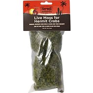Fluker's Live Moss for Hermit Crabs, .7-oz bag