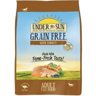 Under the Sun Grain-Free Adult Turkey Recipe Dry Cat Food, 5-lb bag