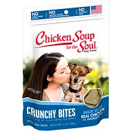 Chicken Soup for the Soul Crunchy Bites Chicken Dog Treats, 12-oz bag