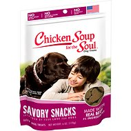 Chicken Soup for the Soul Savory Snacks Beef Dog Treats, 6-oz bag