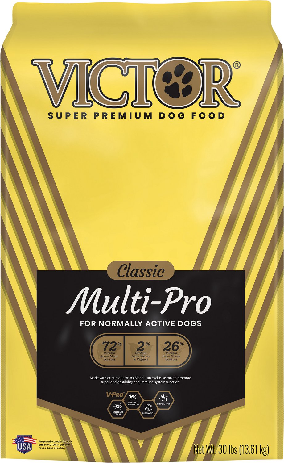Victor Dog Food Reviews >> Victor Multi-Pro Dry Dog Food, 30-lb bag - Chewy.com