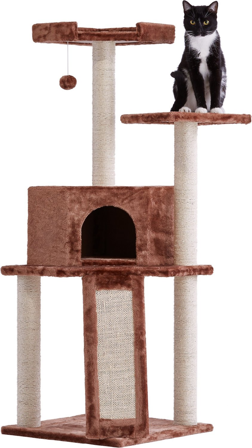 Communication on this topic: Frisco 72-in Cat Tree, Large Base, Brown, frisco-72-in-cat-tree-large-base-brown/