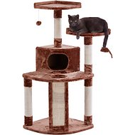 Frisco 48-in Cat Tree, Large Base, Brown