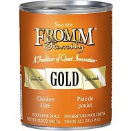Fromm Gold Chicken Pate Grain-Free Canned Dog Food, 12-oz, case of 12
