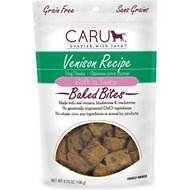 Caru Soft 'n Tasty Baked Bites Venison Recipe Grain-Free Dog Treats, 4-oz bag