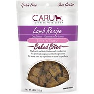 Caru Soft 'n Tasty Baked Bites Lamb Recipe Grain-Free Dog Treats, 4-oz bag